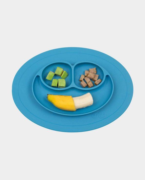 plato para niños de silicona antideslizante mini mat blw baby led weaning