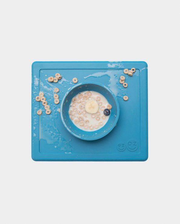 cuenco y bandeja para bebés de silicona antideslizante