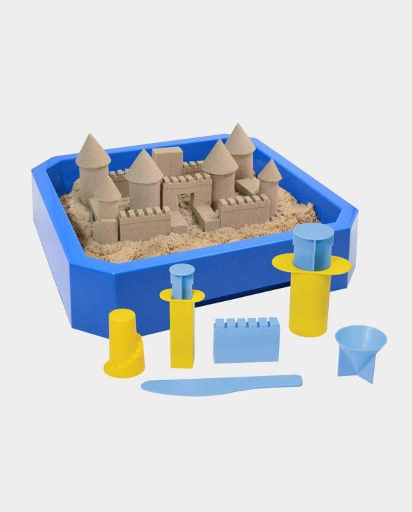 arena kinética kit castillos para niños