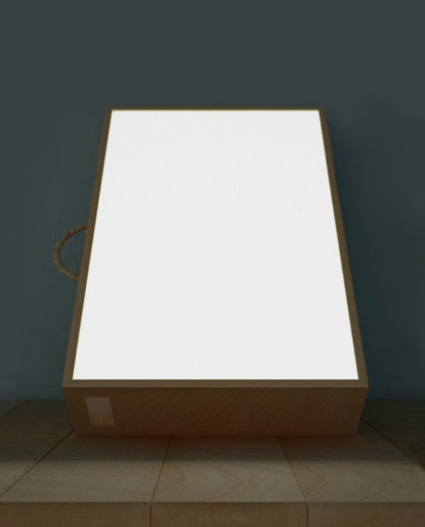 caja de luz rgb