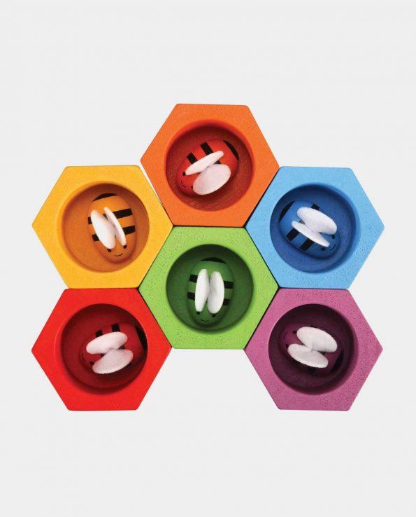 juguete para bebés colmena de abejas