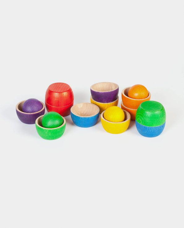 bols con bolas de grapat