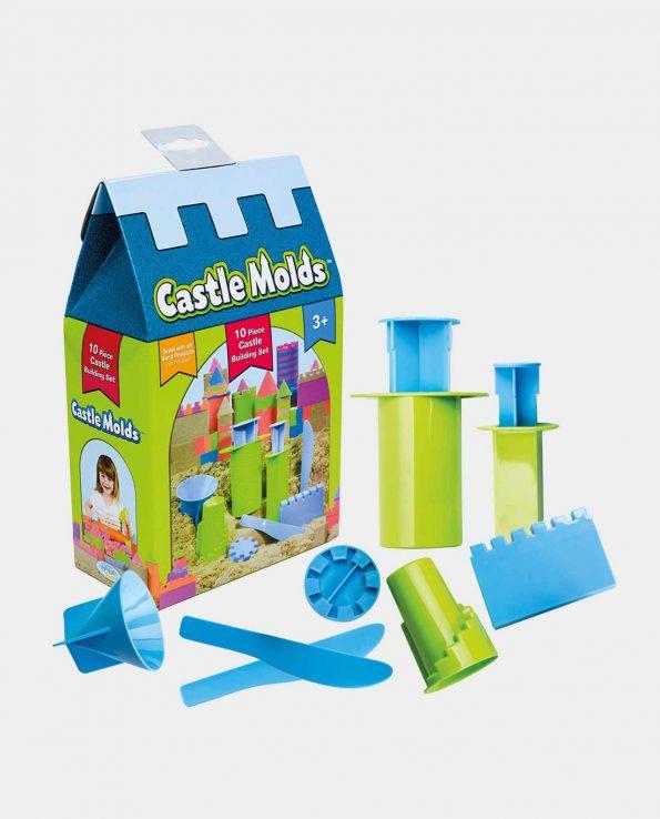 moldes castillo arena kinética