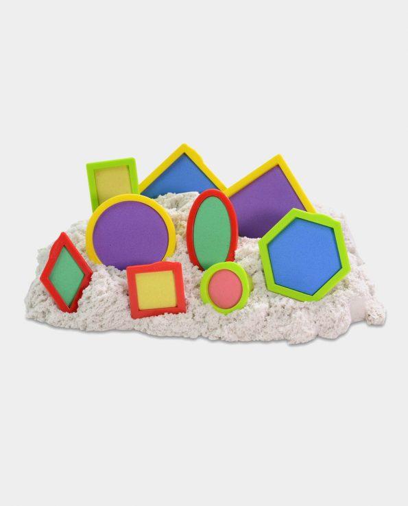 moldes geométricos arena kinética