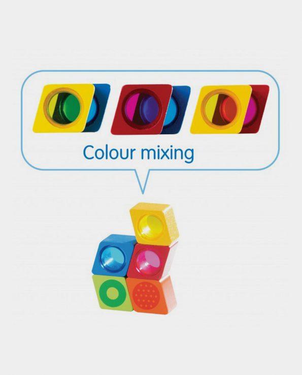 bloques sensoriales montessori