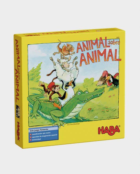 juego de mesa para niños animal sobre animal