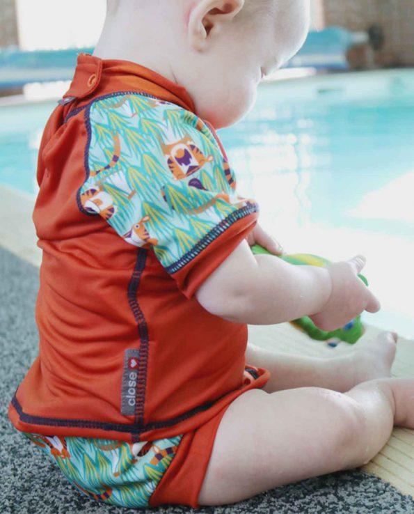 bañador para bebés pop in tigres