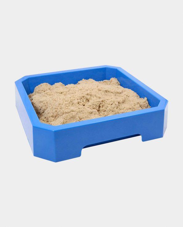 bandeja de arena kinética
