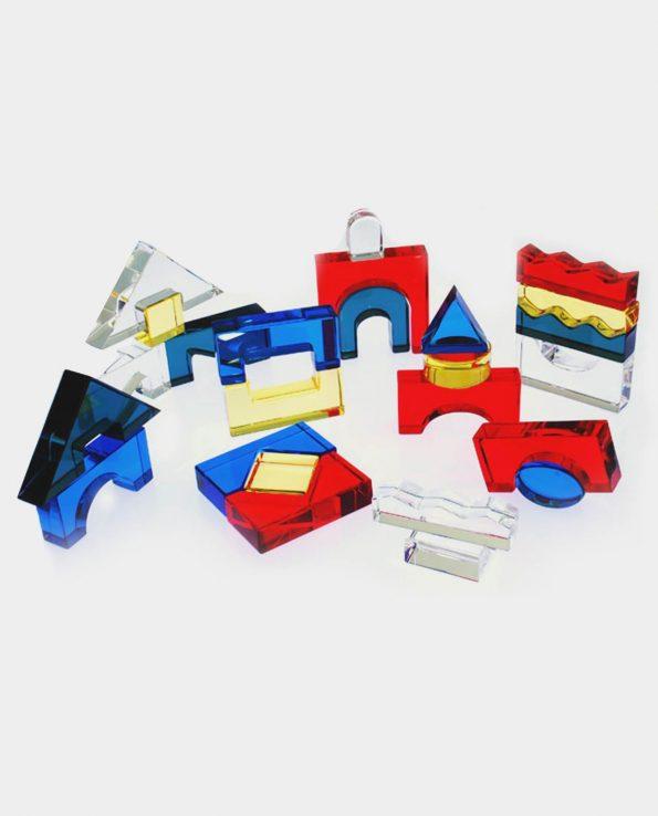 bloques acrílicos para mesa de luz