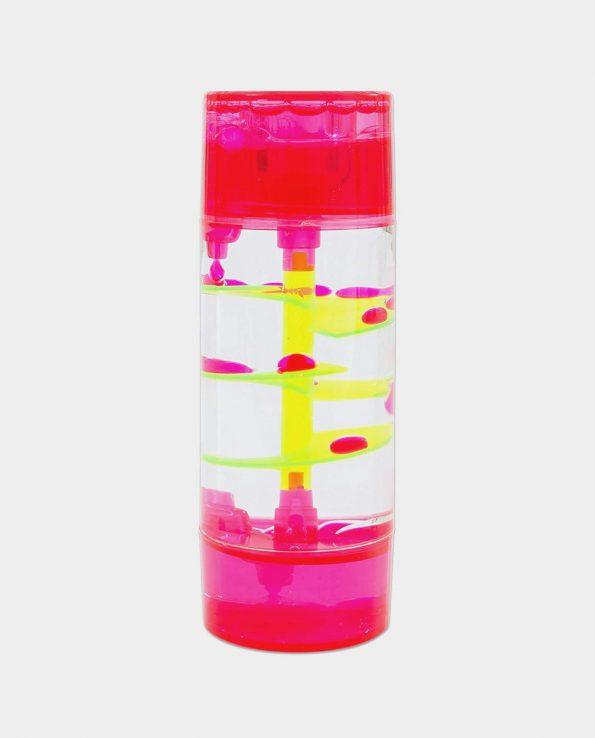 cilindro sensorial en espiral de tickit rojo