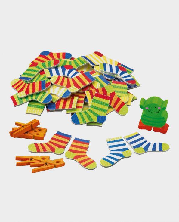 juego de mesa para niños monstruo de los calcetines