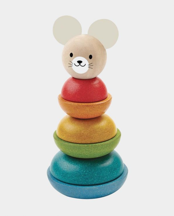 encajable de ratón para bebés