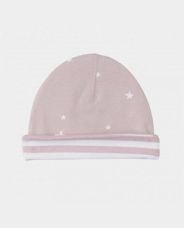 gorro recién nacido rosa clic mini