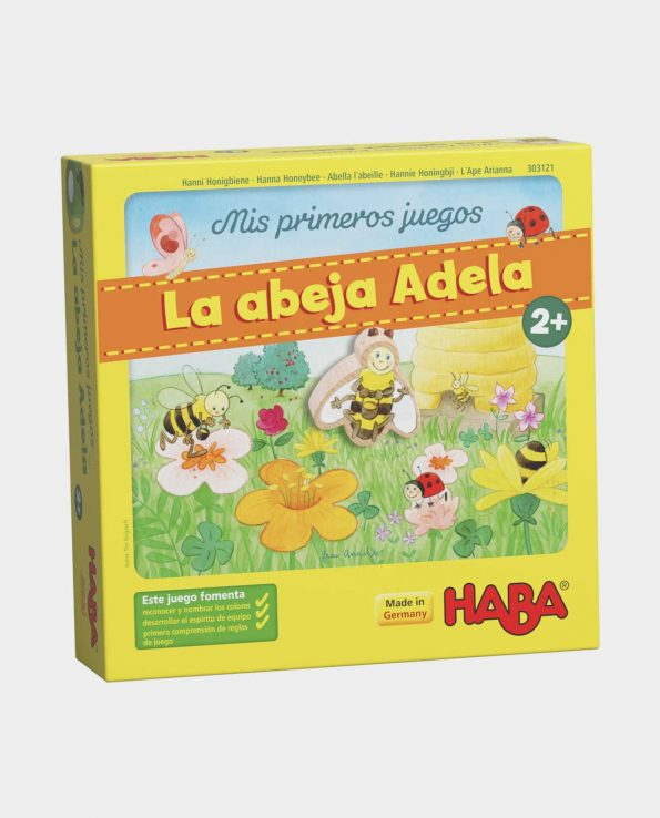 juego de mesa para niños la abeja adela de haba