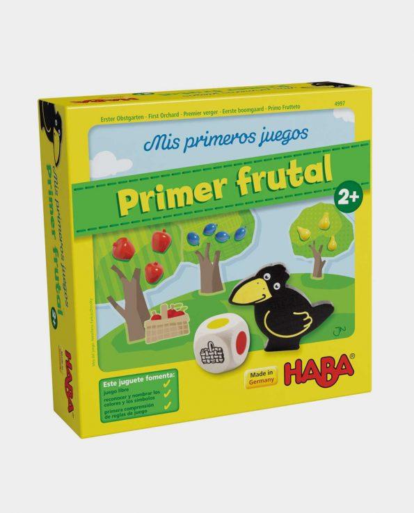 juego de mesa para niños primer frutal de haba