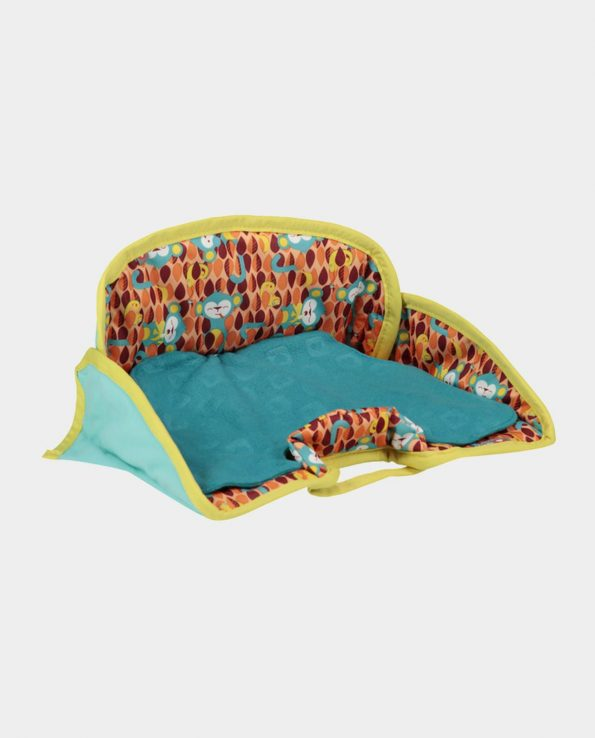 protector de asiento para bebés azul