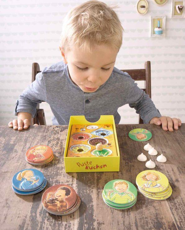 juego de mesa para niños soplar el pastel