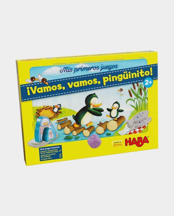 juego de mesa para niños vamos vamos pingüinito
