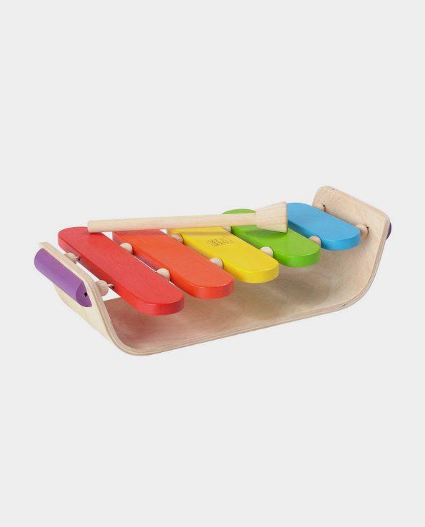xilófono para bebés de madera