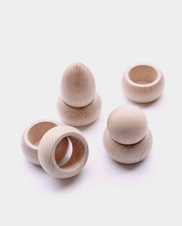 aros de madera panera de los tesoros