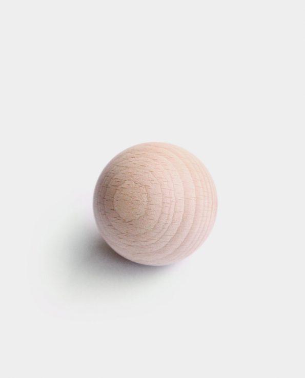 bola de madera panera de los tesoros