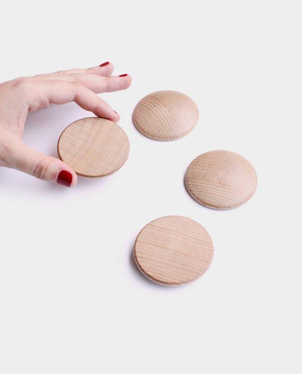 disco de madera panera de los tesoros