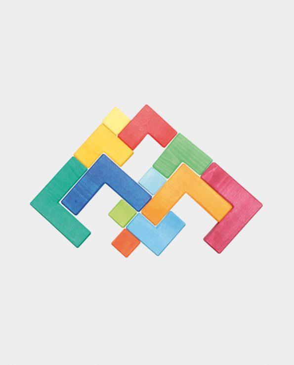Juego Puzzle cuadrado de la marca Grimm's