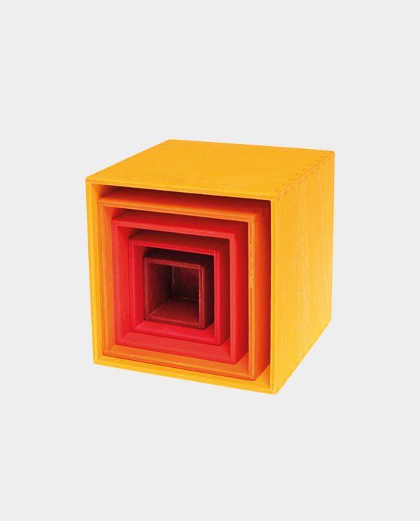 cubo de colores grimms amarillo