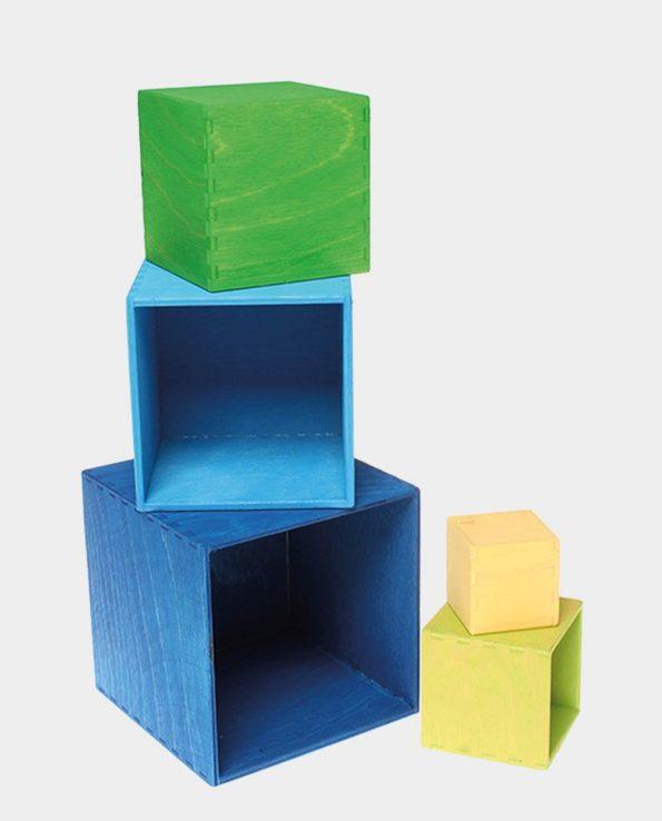 cubo de colores grimms azul