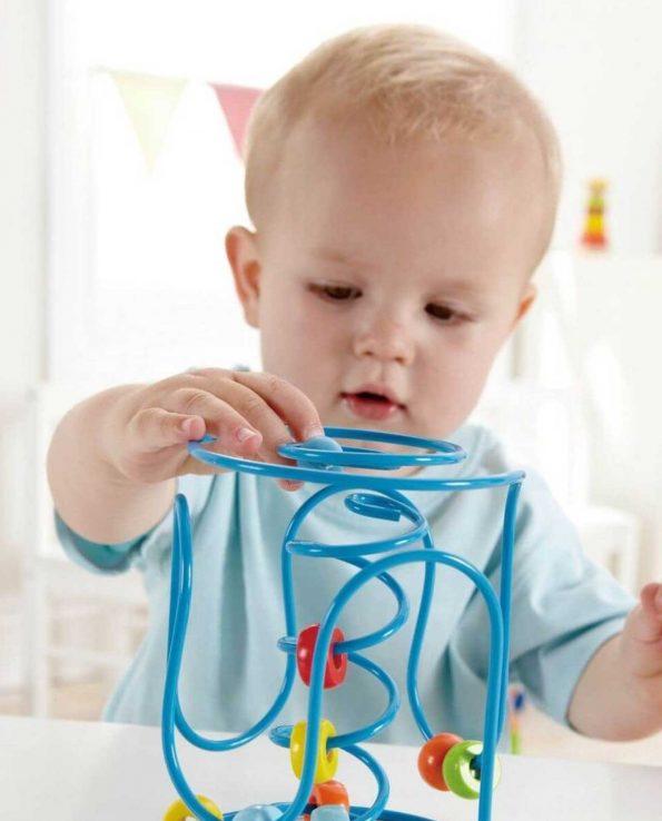 Juguete para bebés laberinto de hape