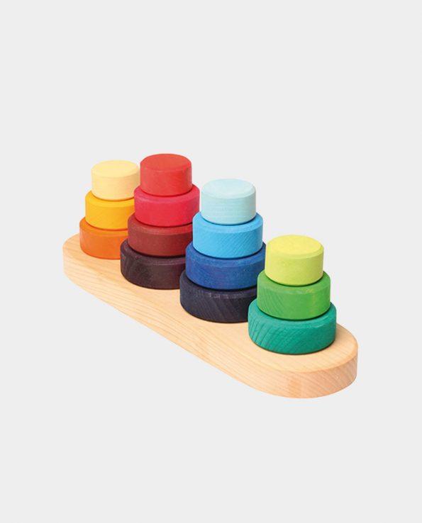 juguete encajable montessori de la marca grimms