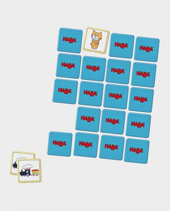 Juego de mesa Mini Memo para niños de la marca Haba