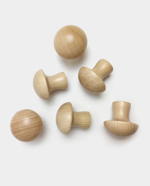 Seta de madera ideal para la panera de los tesoros