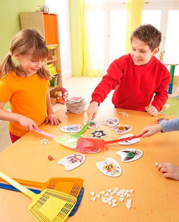 Juego de mesa para niños 3x4=Zas! de Haba