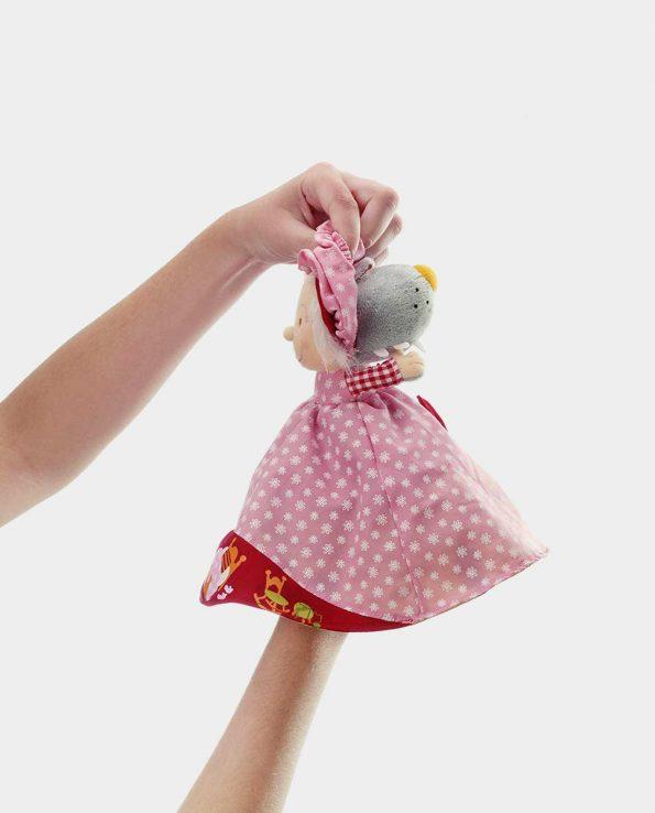 Marioneta reversible Caperucita Roja de Lilliputiens