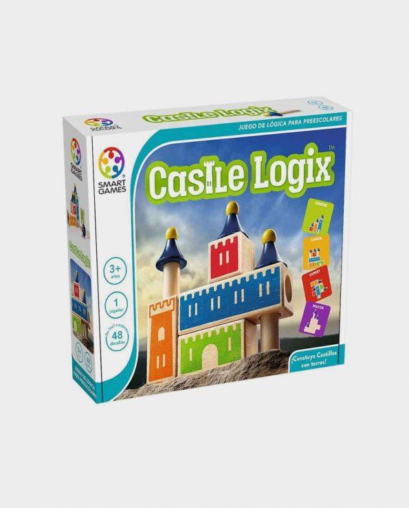 Juego de mesa para niños Castle Logix con piezas de madera