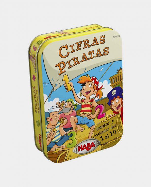 Juego de mesa para niños Cifras Piratas de Haba