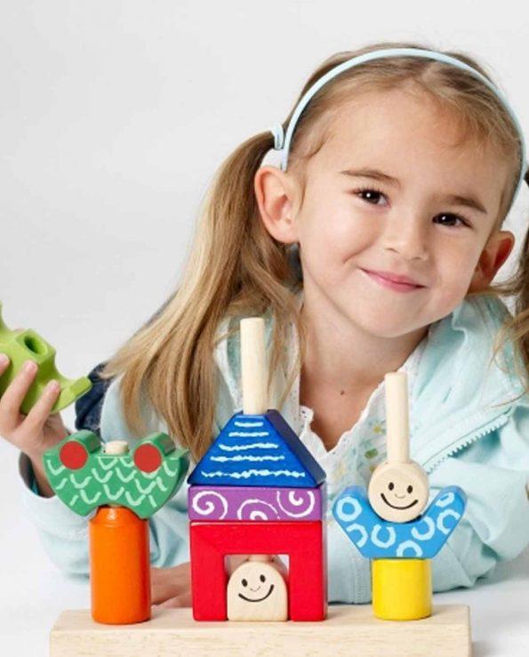 Juego de habilidad de madera para niños Dia y noche de la marca Smart Games