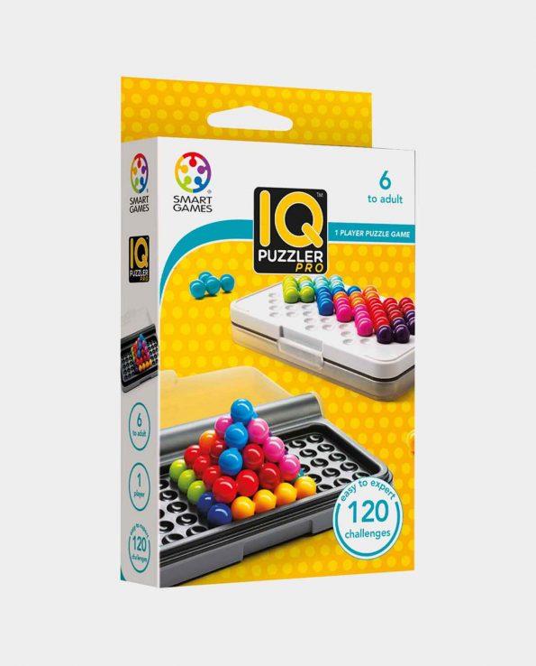Juego de mesa para niños y niñas IQ Puzzler Pro de Smart Games