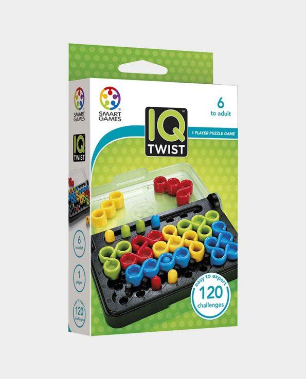 Juego de mesa para niños y niñas IQ Twist de Smart Games