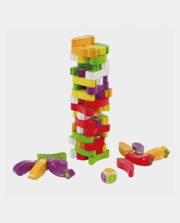 Torre de verduras de madera de la marca hape