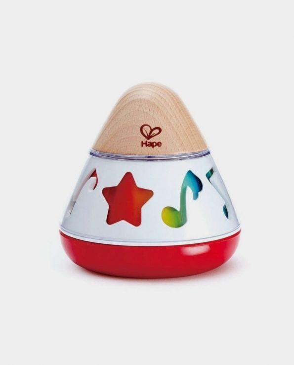 Caja musical giratoria para bebés de Hape