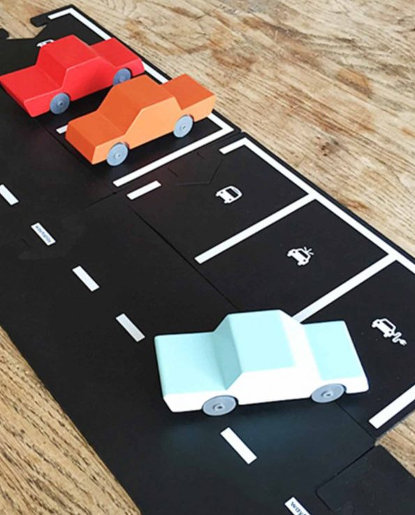 Carreteras Waytoplay Set de extensión Parking