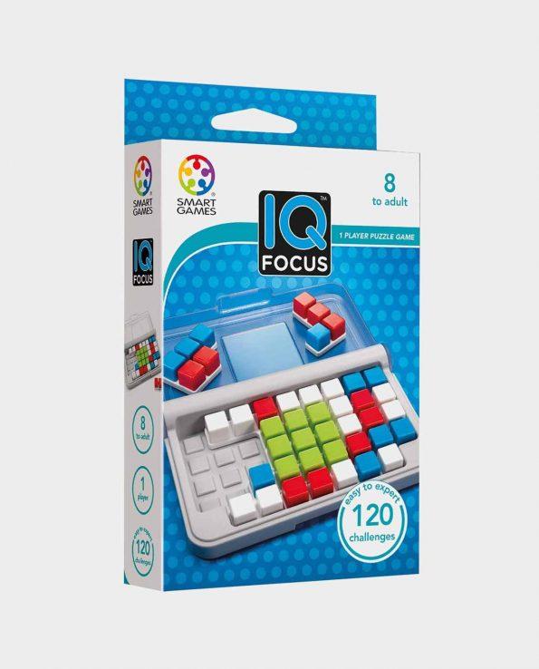 Juego de mesa para niños y niñas IQ Focus de Smart games