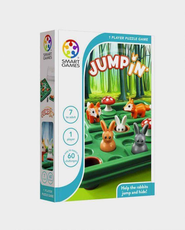 Juego de mesa para niños y niñas Jumpin de Smart Games