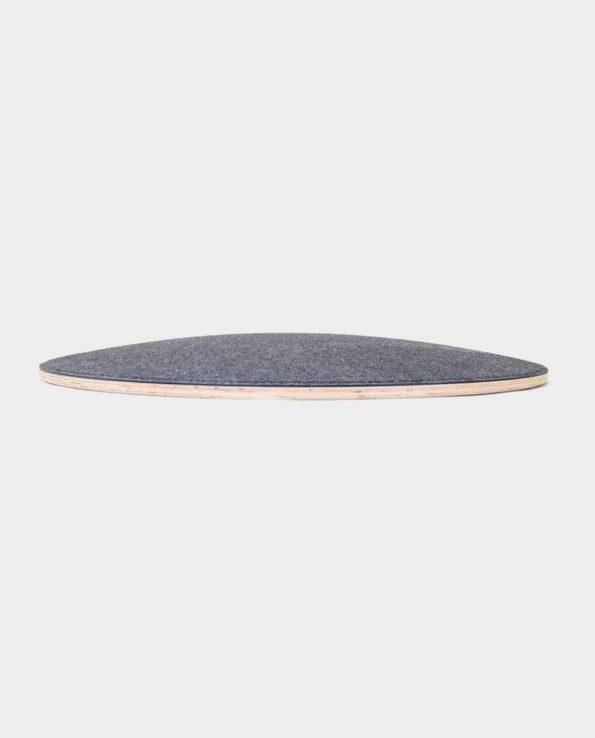 Tabla curva wobbel 360 gris oscuro