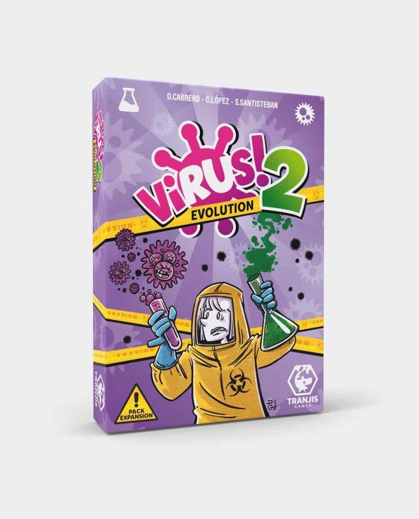 Juego de mesa para niños y niñas de cartas Expansión Virus 2 Evolution