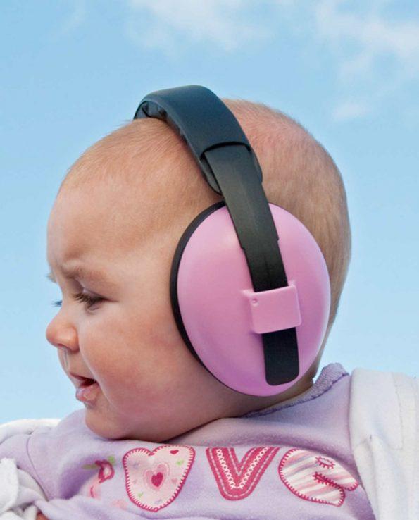 Auriculares antiruido para bebés y niños de la marca Banz
