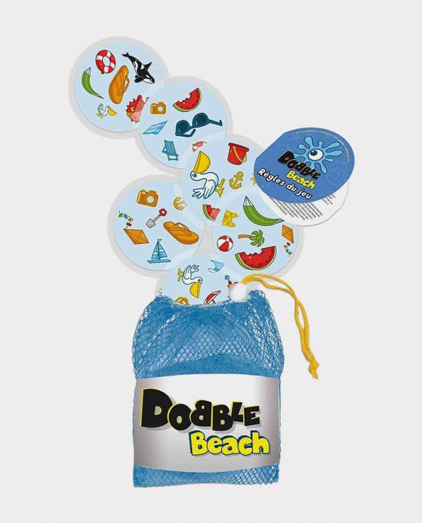 Juego de mesa para niños Dobble Beach impermeable juego de mesa para la playa y piscina