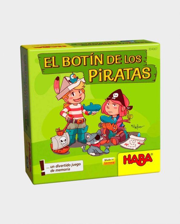 Juego de mesa para niños El botín de los piratas.